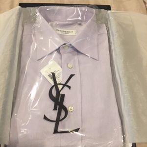 Yves Saint Laurent Mens Dress Shirt (NWT)